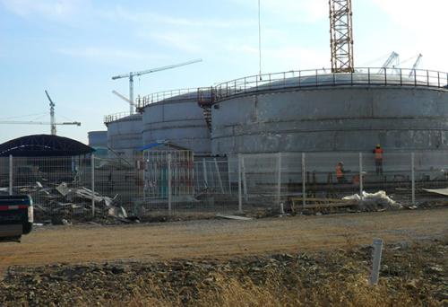 山东海阳核电站一期工程——水箱及油箱配置安装防腐保温工程项目